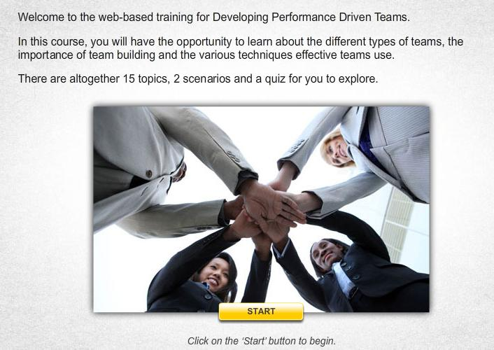 Developing Performance Driven Teams