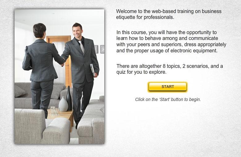 Business Etiquette for Professionals