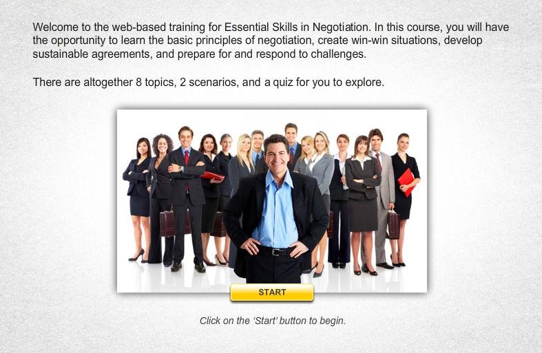 Essential Skills in Negotiation