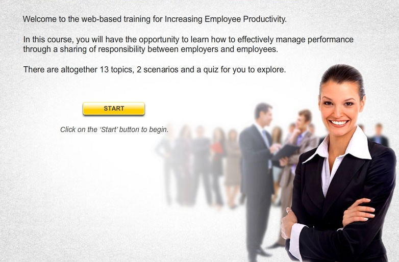Increasing Employee Productivity