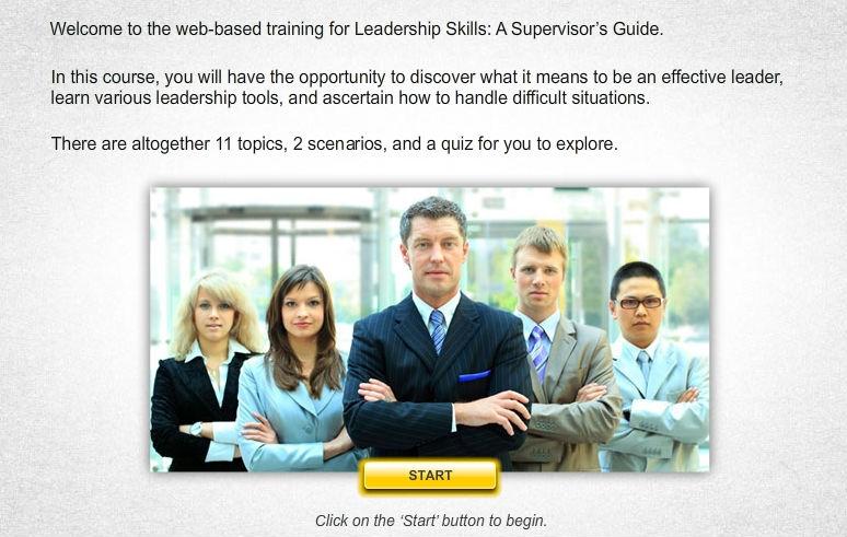 Leadership Skills: A Supervisor
