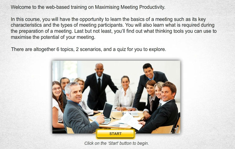 Maximising Meeting Productivity