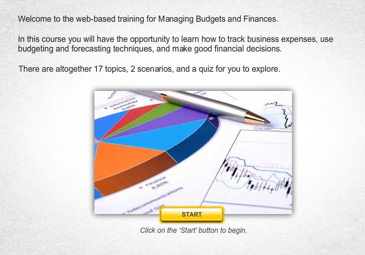 Managing Budget and Finances